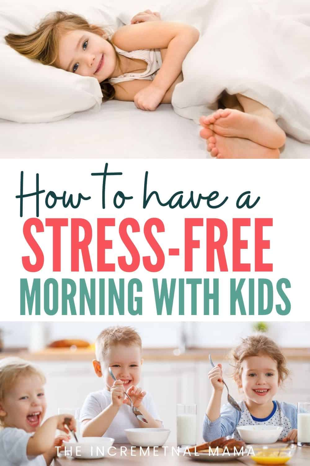 easy morning routine with kids