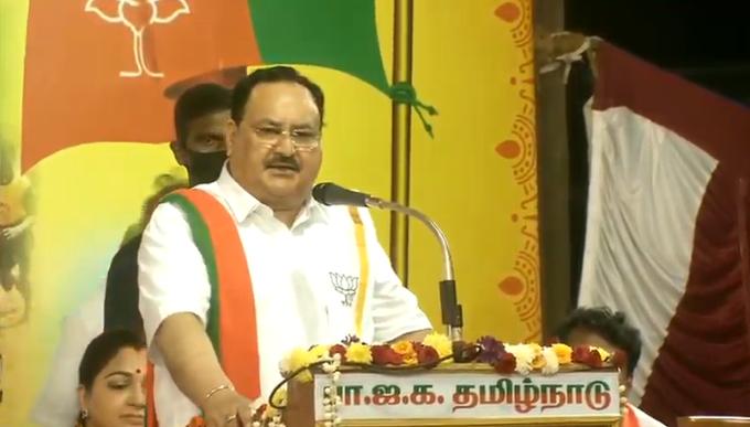 JP Nadda Tamil Nadu
