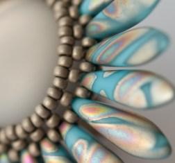 Polaris Dagger Ring by Sarah Cryer Beadwork