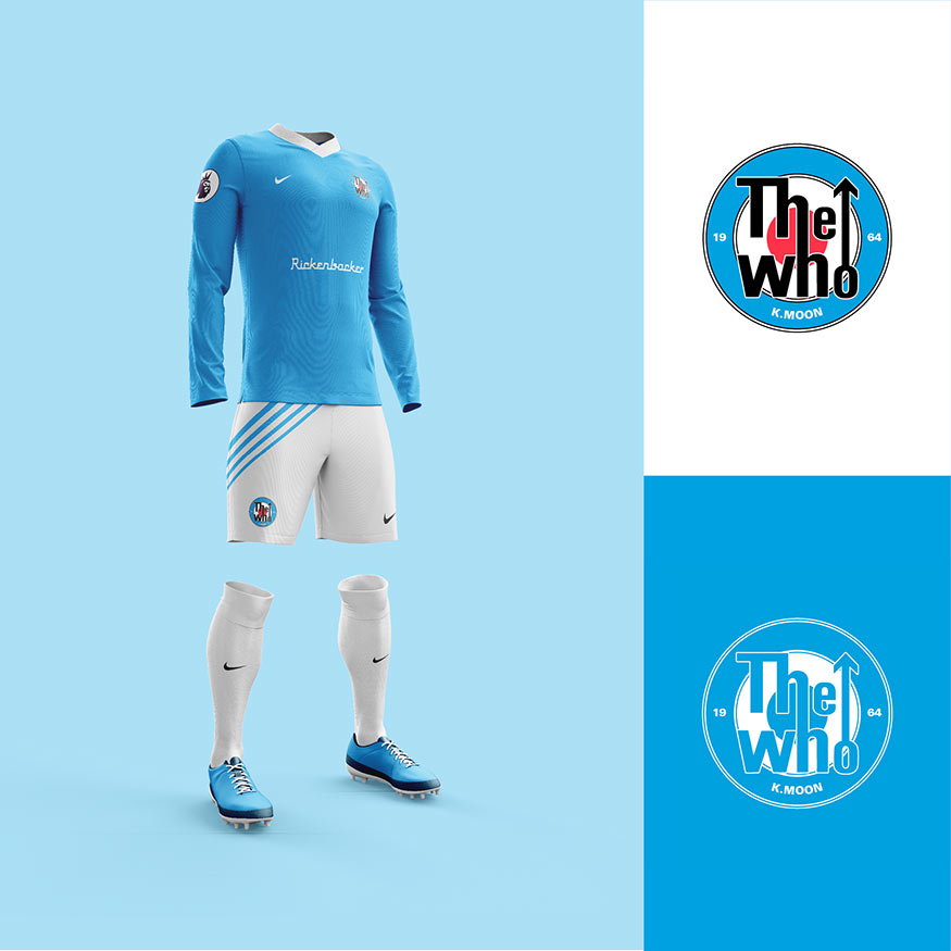 The Who football kit