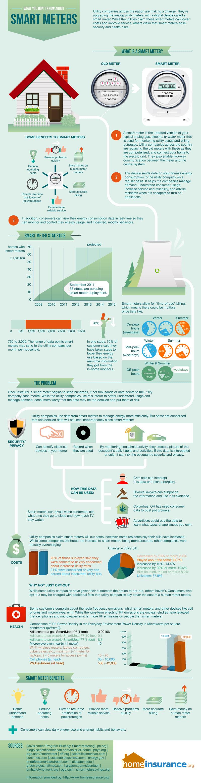 smart meters infographic