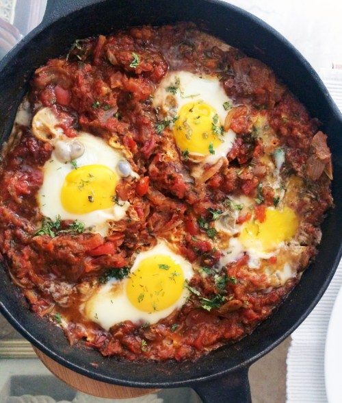 shakshouka eggs brunch shakshuka middle eastern