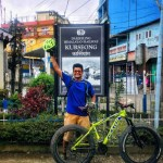 First to ride up Kurseong on a Fat Bike