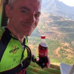 Jan with Coke