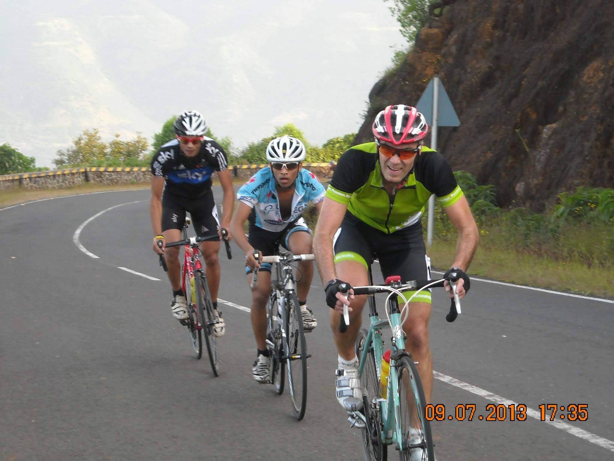 Riding up Lavasa