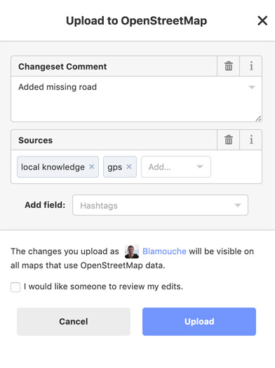 Uploading your Changes