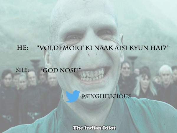Harry Potter Desi India jokes puns funny