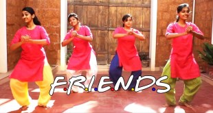 Indian Classical Dance To Desi Version Of Friends Theme Song? These Girls Are Nailing It!