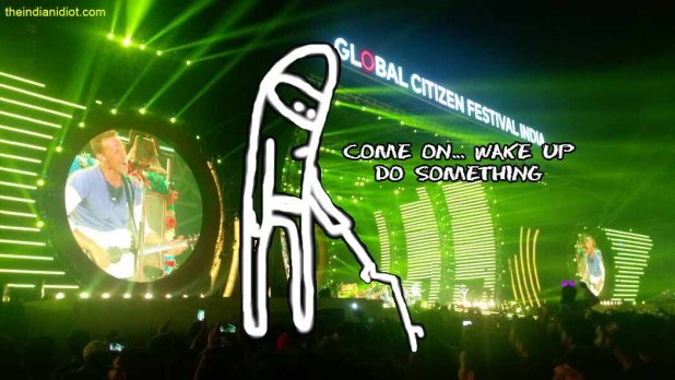 coldplay india meme global citizen