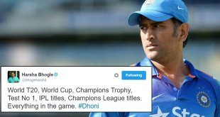 MS Dhoni Stepped Down As Captain & Here's How Twitter Reacted