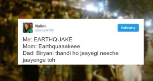 Earthquake Hits Delhi; Tremors Felt Across Social Media