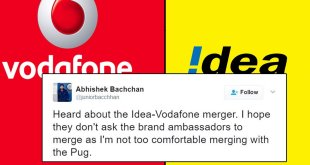 Vodafone & Idea Have Come Together and Everyone's Making The Same Joke