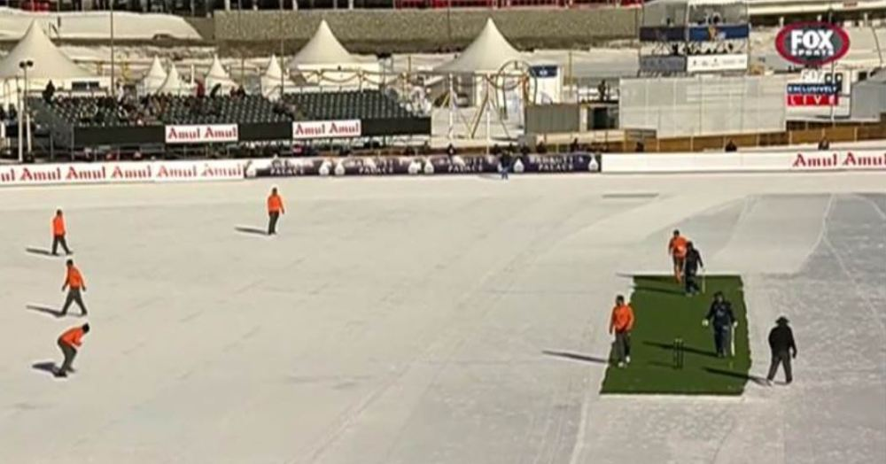 Ice cricket match 2018