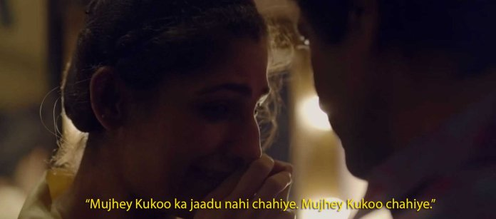 Sacred Games quotes and scenes: ganesh gaitonde and kukoo's love story
