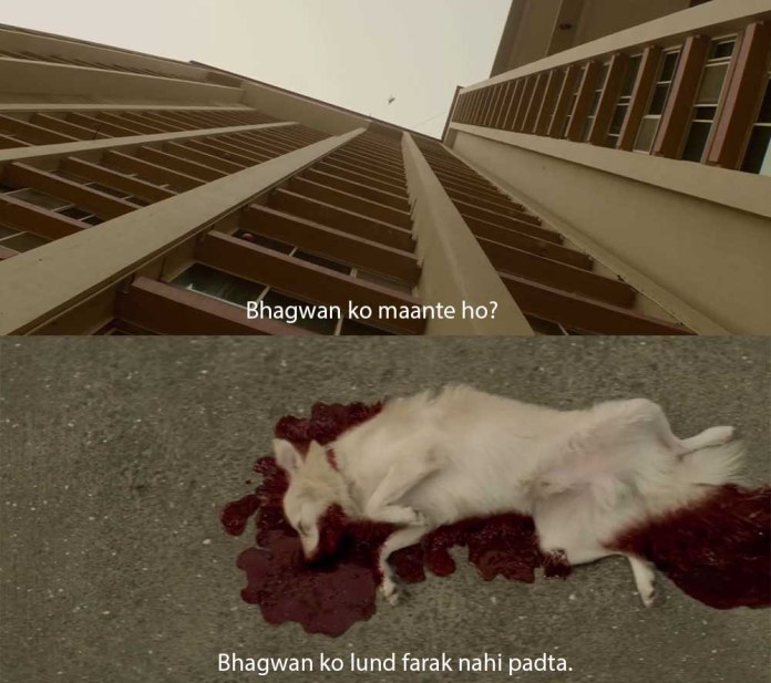 Sacred Games quotes and scenes: bhagwan ko maante ho?