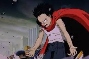 in picture characters from the anime movie akira