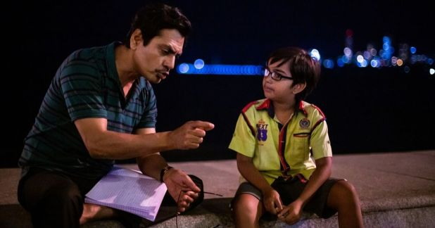 a still from the movie serious men featuring nawazuddin siddiqui