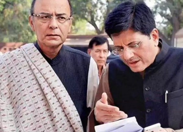 additional charge of the finance ministry