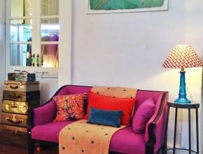 dans la Maison Rose, mobilier et design