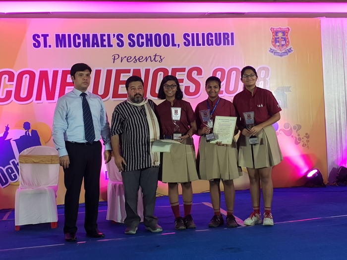 confluences 2018 inter school event