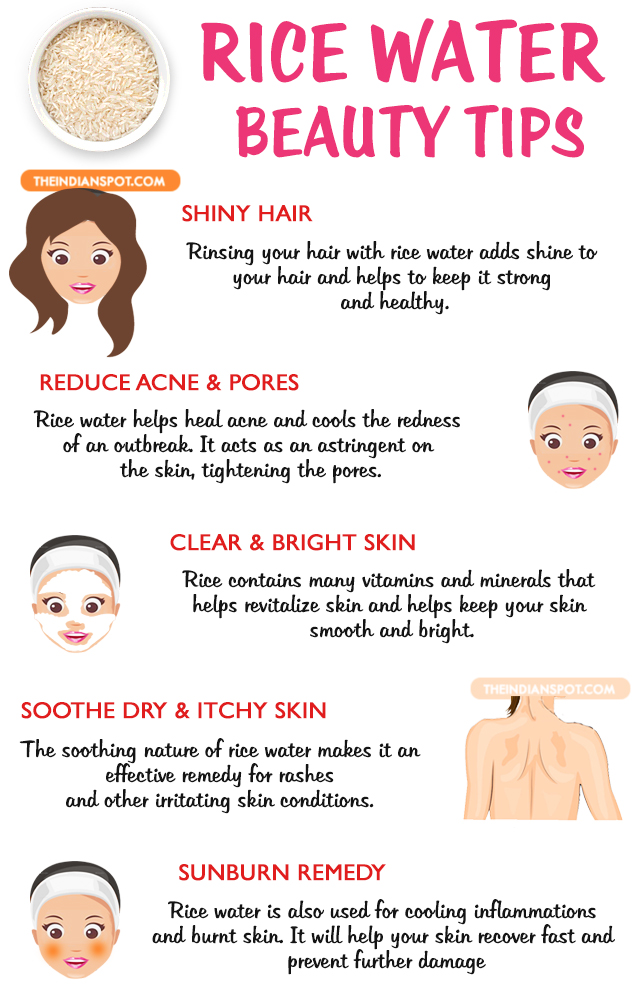 Rice Water Beauty Benefits And Uses THE INDIAN SPOT
