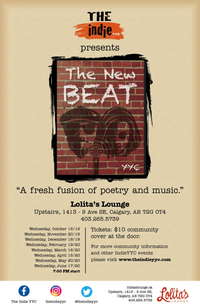 The Indie YYC The New Beat 2019 -2020 season