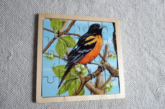 The Bird puzzle.