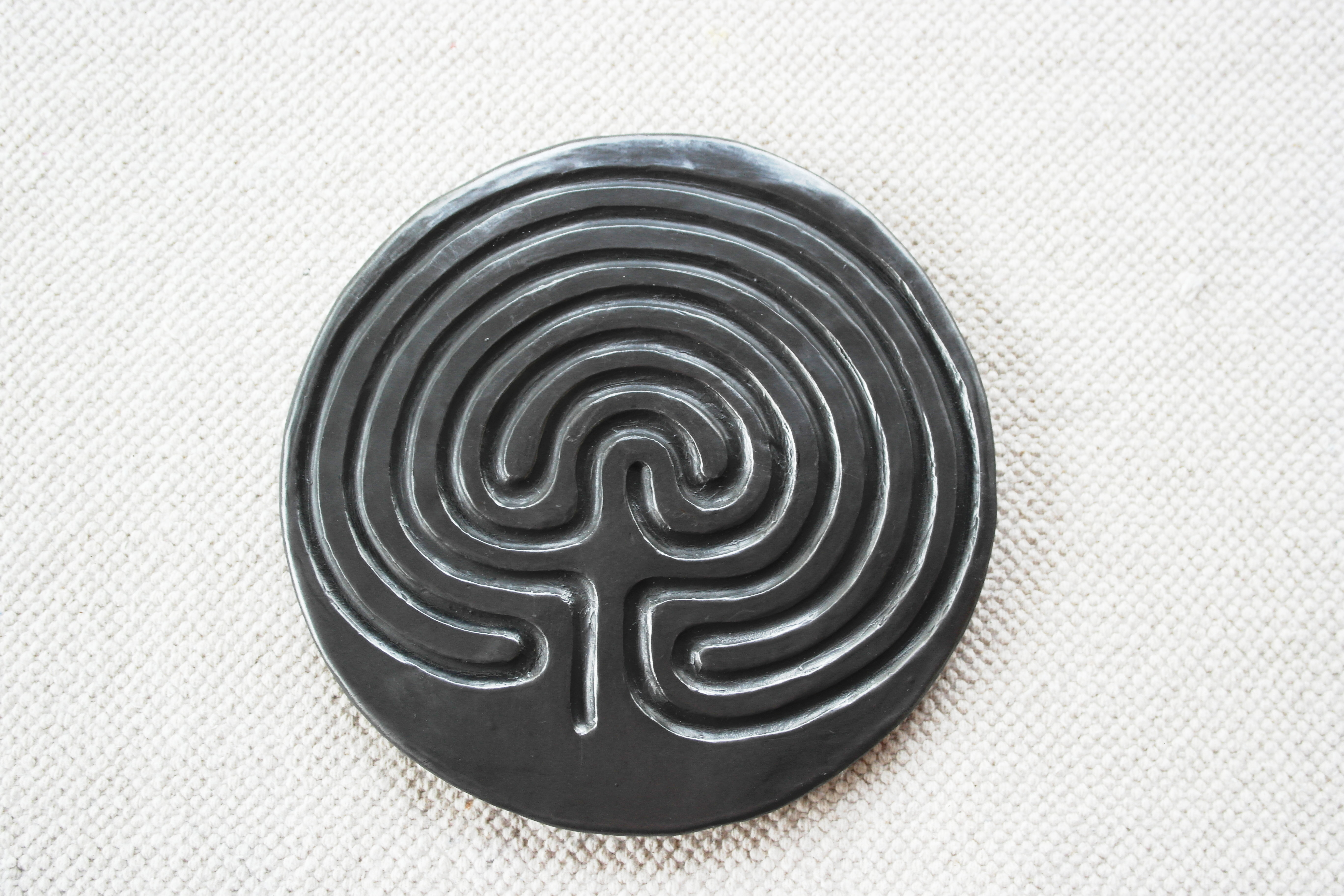 picture regarding Finger Labyrinth Printable identified as The Finger Labyrinth ⋆ The Indigo Trainer