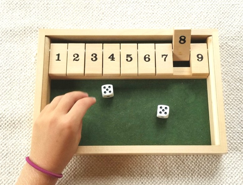 Shut the Box – The Funnest Addition Fluency Game You'll Ever Play
