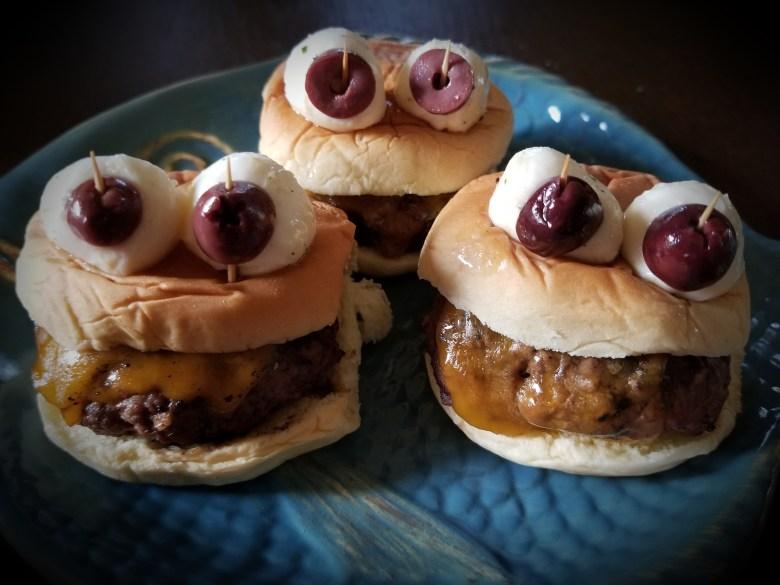 Monster Burgers! Ahhh!