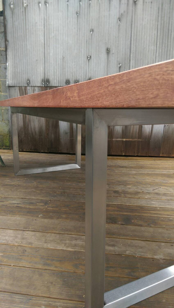 Stainless Steel Modern Minimalist Table The Industrial