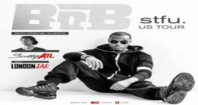 "B.o.B Announces ""STFU"" Tour"