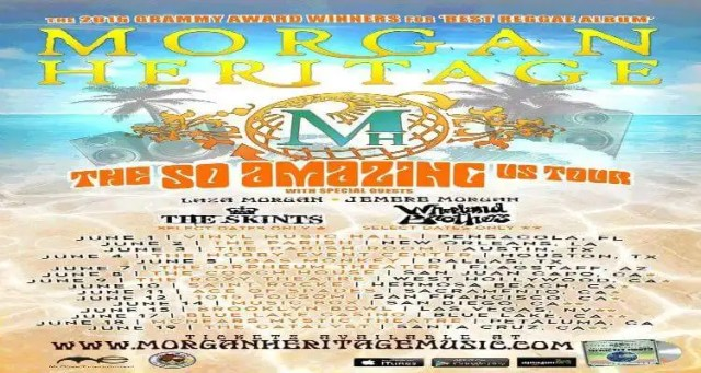"Morgan Heritage Announce The ""So Amazing Tour"""