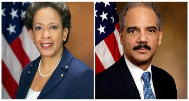 Loretta Lynch to Present Eric Holder with Leadership Award
