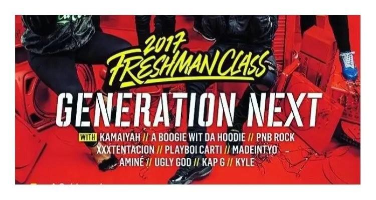 XXL Magazine Releases 2017 Freshman Class Issue