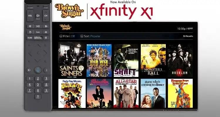 Xfinity X1 Gets Some Brown Sugar