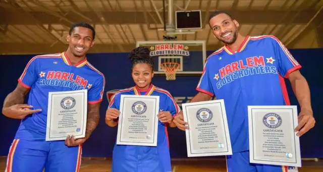 Harlem Globetrotters Set Five New World Records