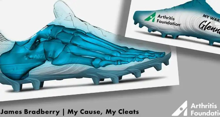 James Bradberry Chooses The Arthritis Foundation For The NFL's 'My Cleats, My Cause'