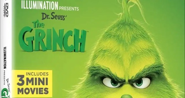 Dr. Seuss' The Grinch Available January 22, 2019