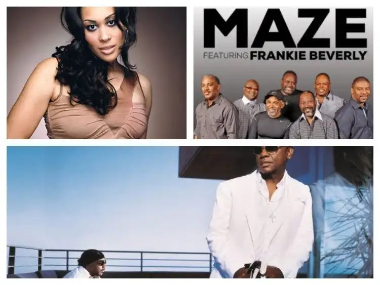 Legends Live Atlanta Featuring Maze Featuring Frankie Beverly, The Isley Brothers and Keke Wyatt