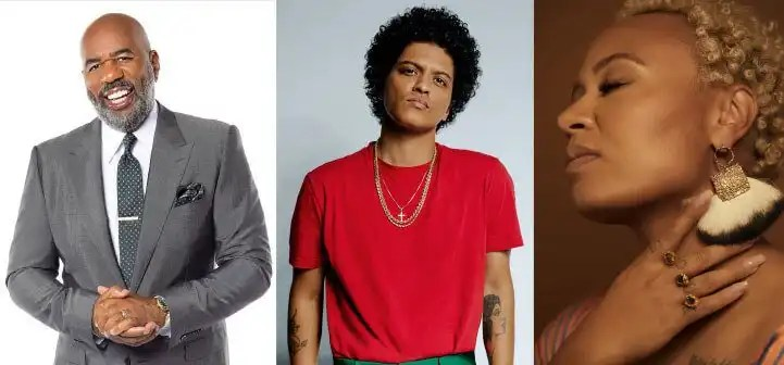 Bruno Mars, Steve Harvey Join Beloved Benefit in Atlanta