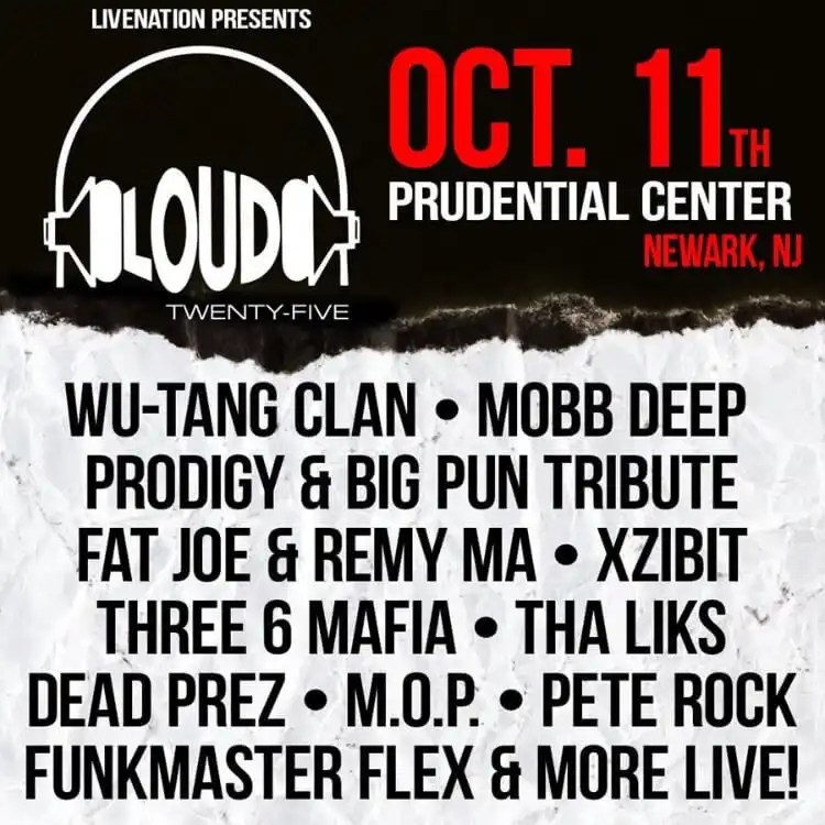 Loud Records Celebrates 25th Anniversary at Prudential Center October 11th