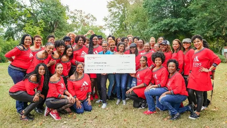Spelman Deltas Make Record Breaking Donation