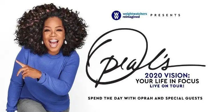 Oprah Winfrey And WW Announce All-Star Lineup To Join Oprah's 2020 Vision: Your Life In Focus Tour