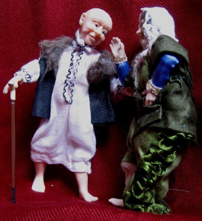 theinfill - Medieval, Tudor, Jacobean dolls house blog - J van Eyck's Arnolfini portrait - the gentleman