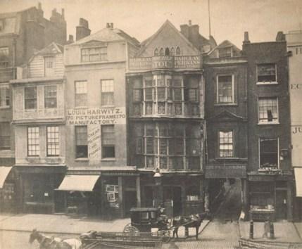 V&A archive photograph Sir Paul Pindar's House