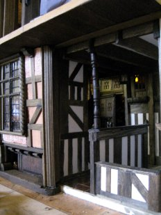 theinfill – the infill – Tudor, Elizabethan, Jacobean Dolls House Blog - retrofitting a removable panel