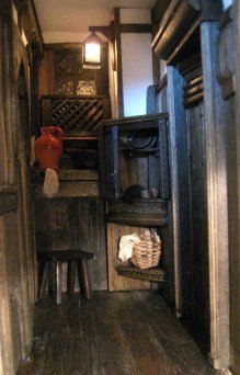 Dressing the room spaces - theinfill dolls house blog - Medieval, Tudor and Jacobean