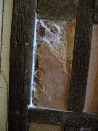 theinfill Medieval, Tudor, Jacobean 1:12 dolls house blog - the infill dolls house blog – trying to create a broken plasterwork surface