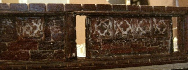 theinfill Medieval, Tudor, Jacobean 1:12 dolls house blog - the infill dolls house blog – adjusted panel shortened and with slots through